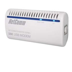 NetComm Wireless AM5067 56K USB Modem White