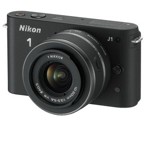 Nikon 1 J1 10-30mm VR  Digital Camera (Black)