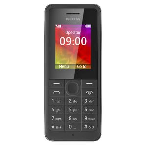 Nokia 106 Outright Mobile Phone Black