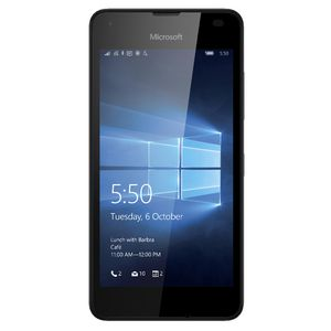 Microsoft Lumia 550 Unlocked Mobile Phone Black