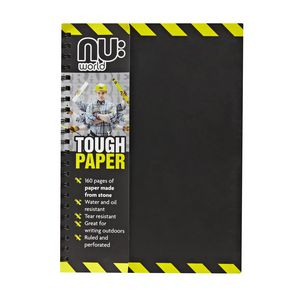nu: Tradie Waterproof Notebook A4 160 Page
