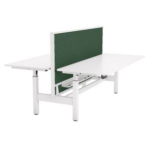 OLG Studio50 Highrise Double Sided Workstation 1500mm Green