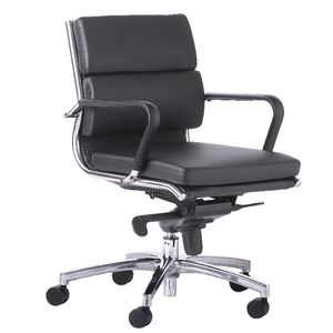 OLG Mode Executive Medium Back Chair Black