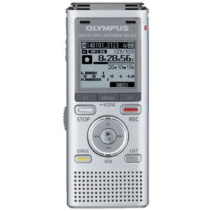 Olympus WS-831 Digital Voice Recorder Silver