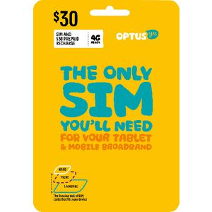 Optus $30 Mobile Broadband Triple SIM Starter Kit