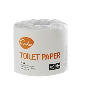 Order 2 Ply Individually Wrapped Toilet Paper 48 Pack