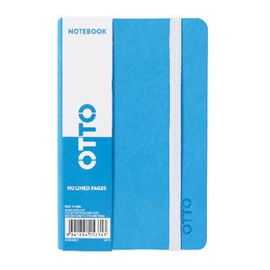 Otto Brights A6 Notebook Ruled Blue 192 Page