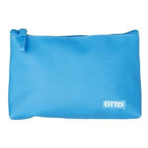 Otto Brights Triangle Pencil Case Blue