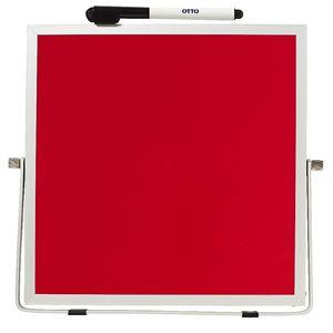 Otto double sided desktop whiteboard red officeworks - Officeworks desktop ...