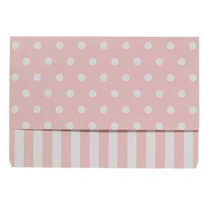 Otto A4 Manilla Document Wallet Pink