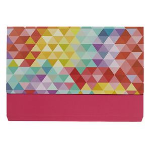 Otto A4 Manilla Document Wallet Assorted Colours