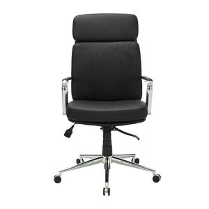 Edison High Back Chair Black