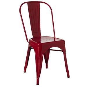 Espresso Chair Red