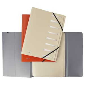Bantex On The Go A4 Expandable Personal Organiser 8 Tab