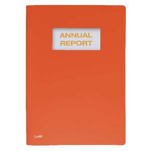 Bantex On The Go A4 Report Cover A4 Orange