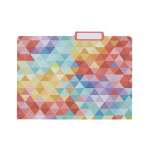 Otto Printed Manilla Folder A4 Multi Coloured