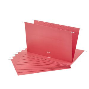 Otto Suspension File Foolscap Coral 10 Pack