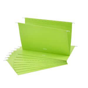 Otto Suspension File Foolscap Green 10 Pack