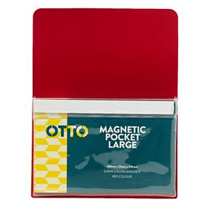 Otto Large Magnetic Organiser Red