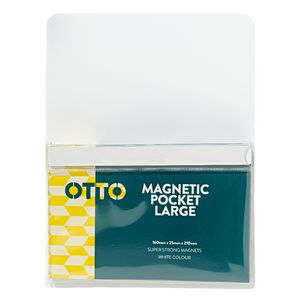 Otto Large Magnetic Organiser White