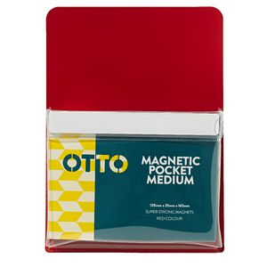 Otto Medium Magnetic Organiser Red