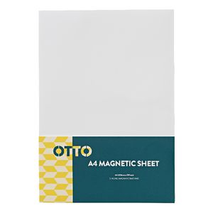 Otto A4 Magnetic Sheet White