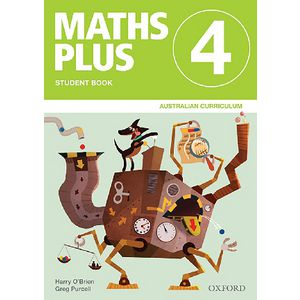 Oxford Maths Plus AC Student Book 4