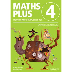 Oxford Maths Plus AC Mentals and Homework Book 4