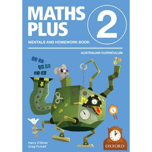 Oxford Maths Plus AC Mentals and Homework Book 2