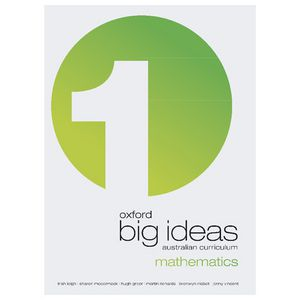Oxford Big Ideas Mathematics Student Book 1