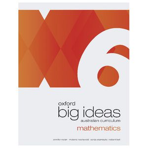 Oxford Big Ideas Mathematics Student Book 6