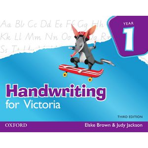 Oxford Handwriting For Victoria Book Year 1