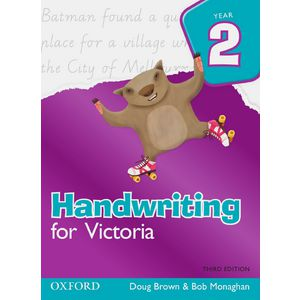 Oxford Handwriting For Victoria Book Year 2