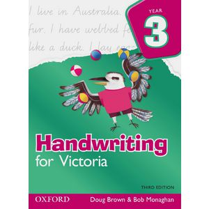 Oxford Handwriting For Victoria Book Year 3