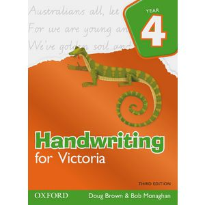 Oxford Handwriting For Victoria Book Year 4
