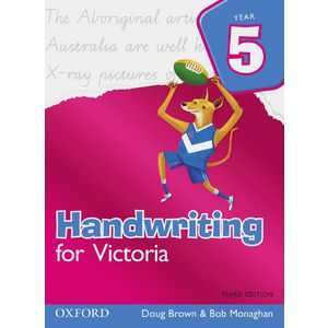 Oxford Handwriting For Victoria Book Year 5