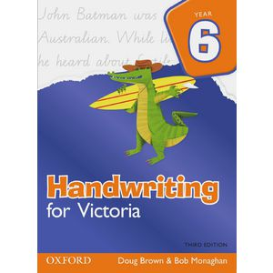 Oxford Handwriting For Victoria Book Year 6