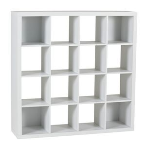 Cohen York 16 Cube Storage Unit White