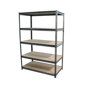 Corcoran Riggs Heavy Duty 5 Shelf Storage System Black