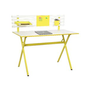 Ally Hutch Desk Yellow