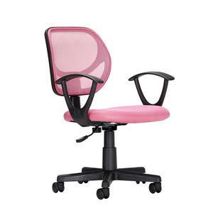 Inabox Alpha Mesh Student Chair Pink