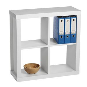 Inabox Cluedo 4 Cube Storage Unit White