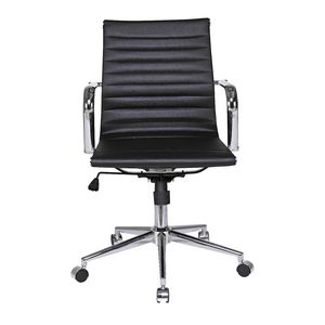 Hummingbird Fresno Executive Medium Back Chair Black