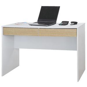 Jasper Desk White & Oak