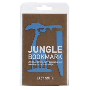 LAZY SMITH Jungle Bookmark Giraffe Blue