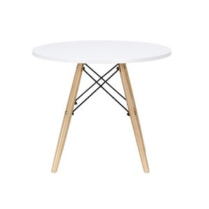 Kids Play Table White