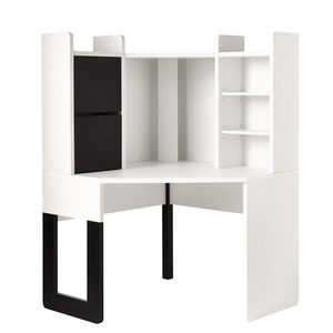 Hummingbird Madison Corner Workstation White