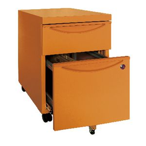 Inabox Steelrix Mobile Pedestal Orange