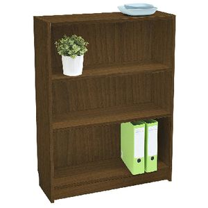 Orson 3 Shelf Bookcase Walnut