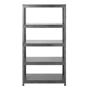 Hammerfast 5 Shelf Heavy Duty Shelving Unit Silver and Black